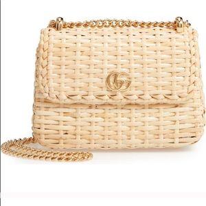 ISO - Gucci Linea cestino wicker bag